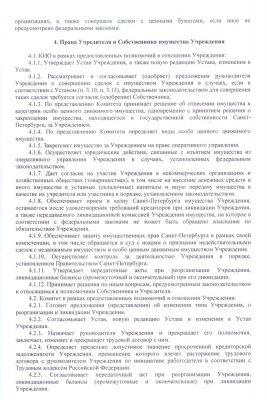 Устав СПб ГБУЗ «ДГБ №17 Св.Николая Чудотворца» Страница 6